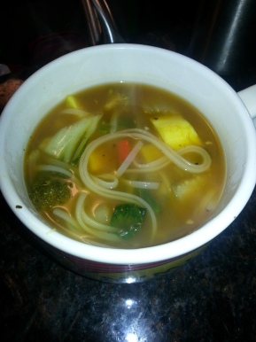 New Recipe alert!- Vegetable Noodle Soup