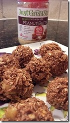 Recipe Alert- Chocolate Peanut Butter Cinnamon Balls